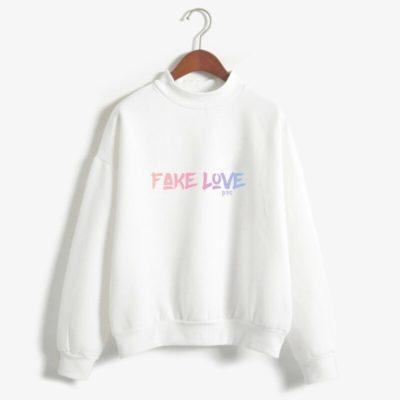 BTS Fake Love Hoodie Merch
