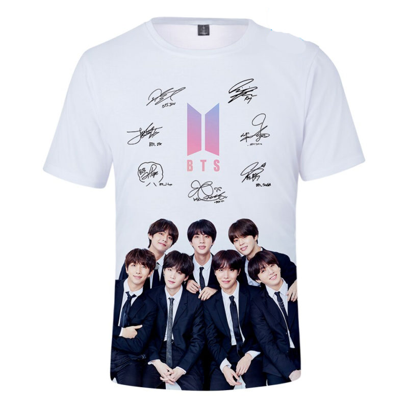 BTS Signed T-shirt By all Members