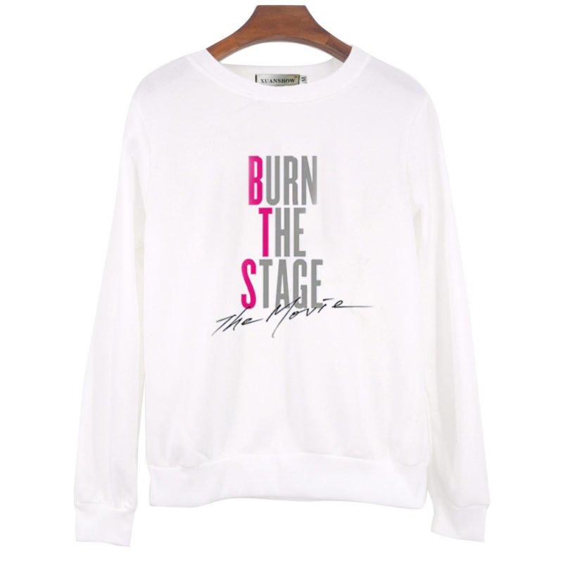 BTS Burn The Stage Hoodie Merch