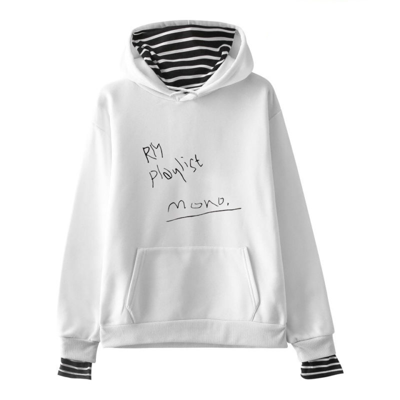 BTS Playlist Hoodie Merch