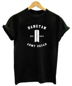 BTS Army T-shirt Merch