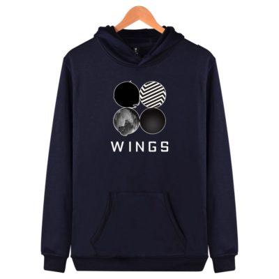 BTS Wings Hoodie Merch
