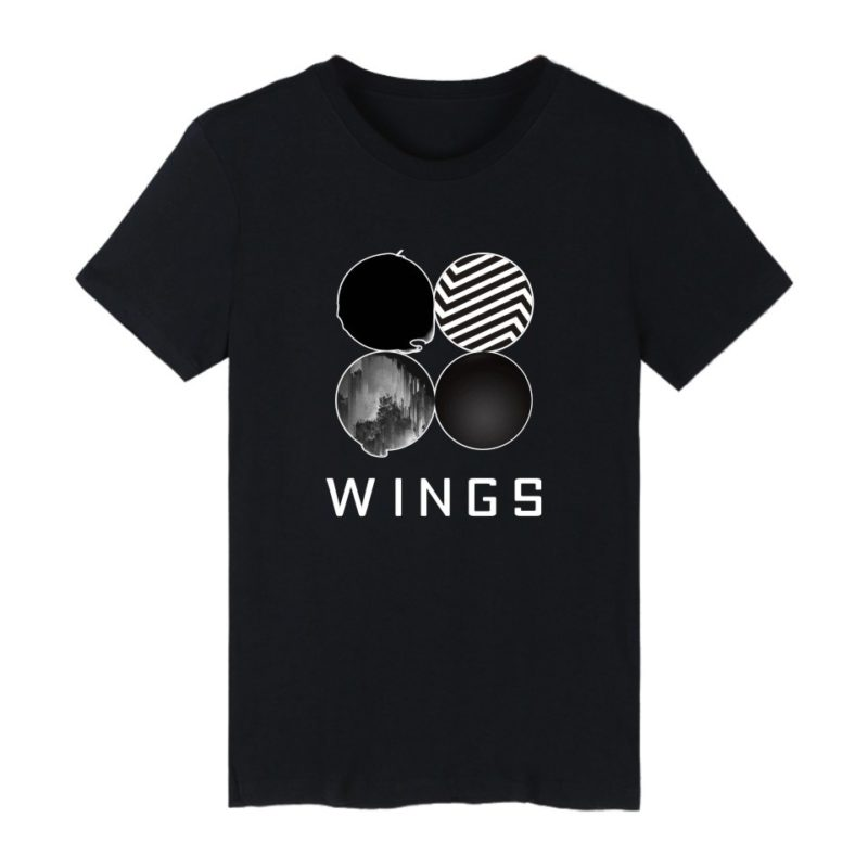 "BTS ""Wings"" T-shirt Merch"