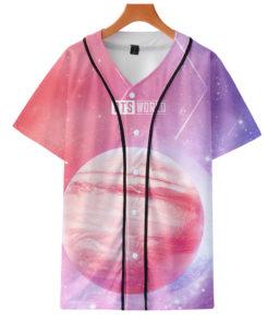 BTS Baseball T-shirt Merch