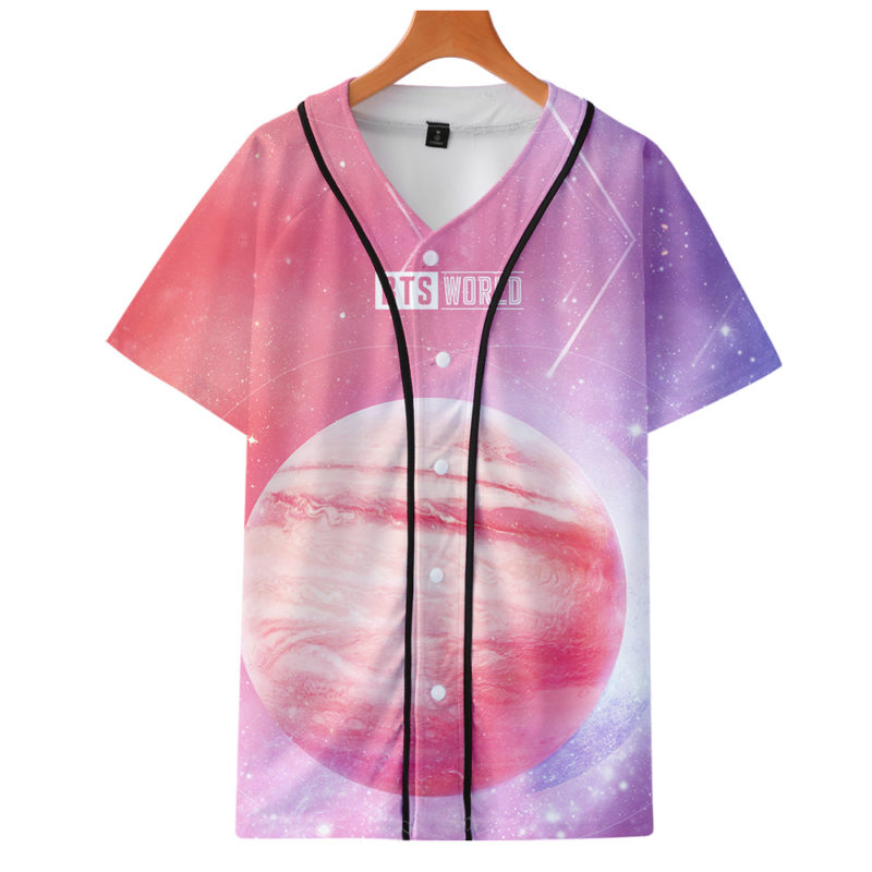 BTS Baseball T-shirt Merch
