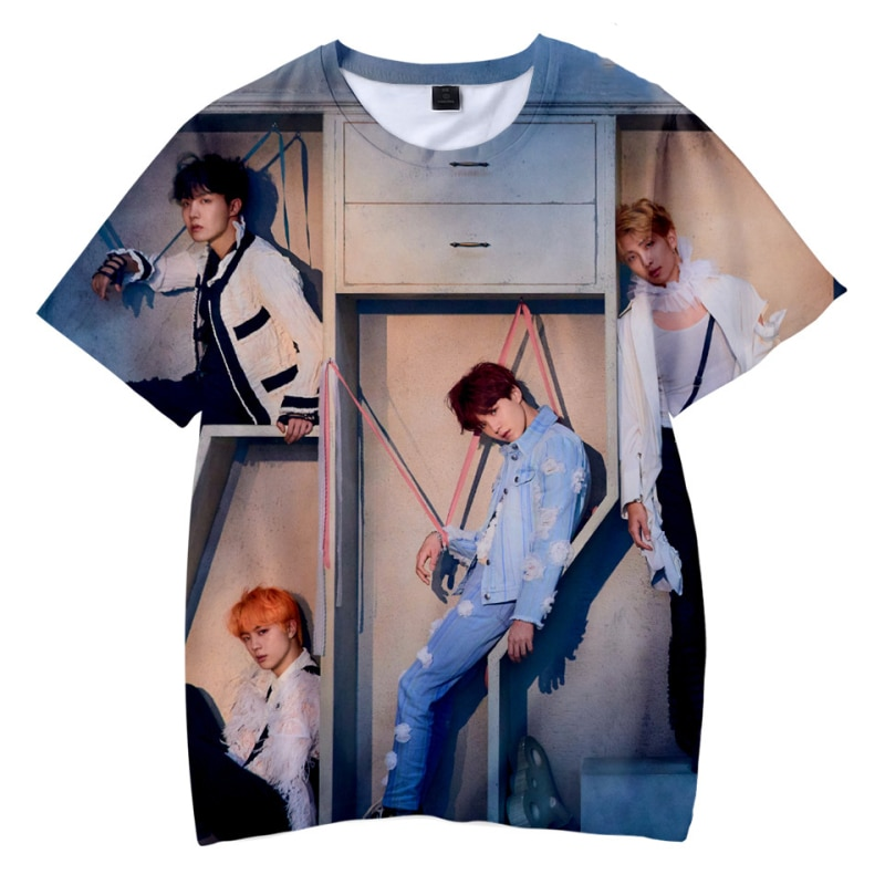 BTS 3D Design T-shirt Merch