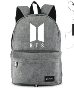 BTS USB Waterproof School Bag
