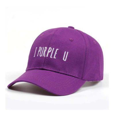 BTS I Purple You Cap Merch