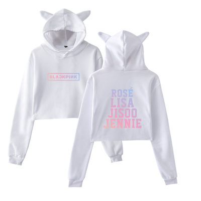 BLACKPINK Cat Style Hoodie Merch