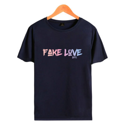 BTS Fake love T-shirt merch