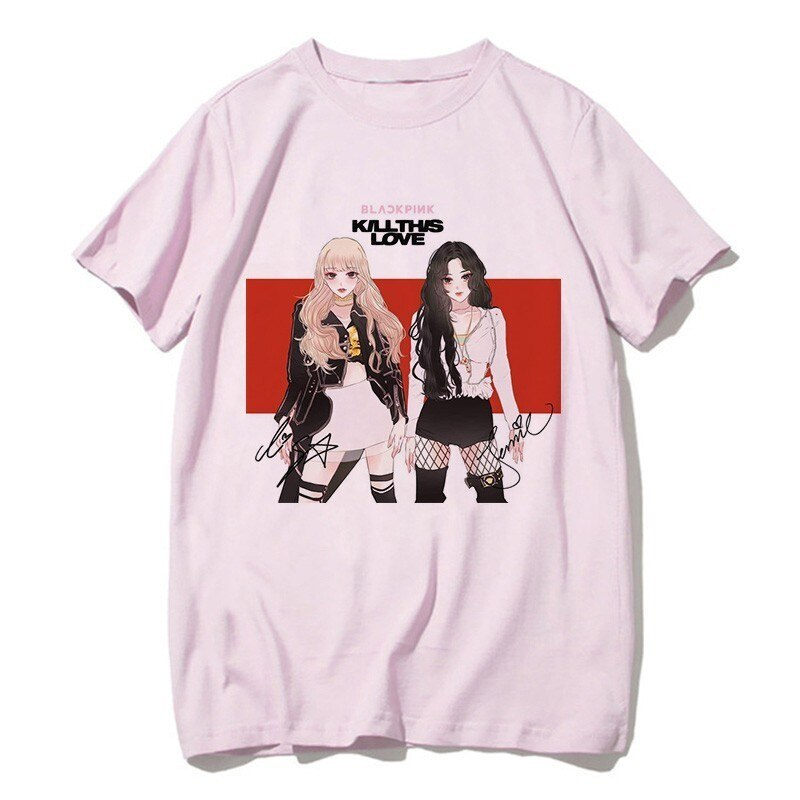 BLACKPINK Animated Tshirt Merch