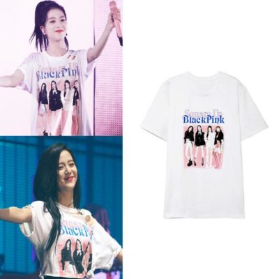 BLACKPINK O Neck T-shirt Merch