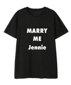Marry Me To BLACKPINK T-shirt Merch