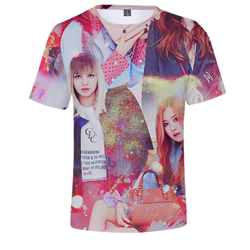 BLACKPINK 3D Design T-shirt Merch
