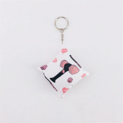 "Kawaii ""BLACBLACKPINK Pillow Key ChainKPINK Pillow Key Chain"" at very low prices. Only available at Kpop Bae."