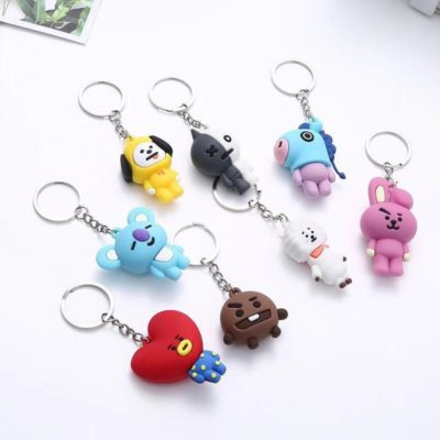 BT21 Kawaii Key Chain Merch
