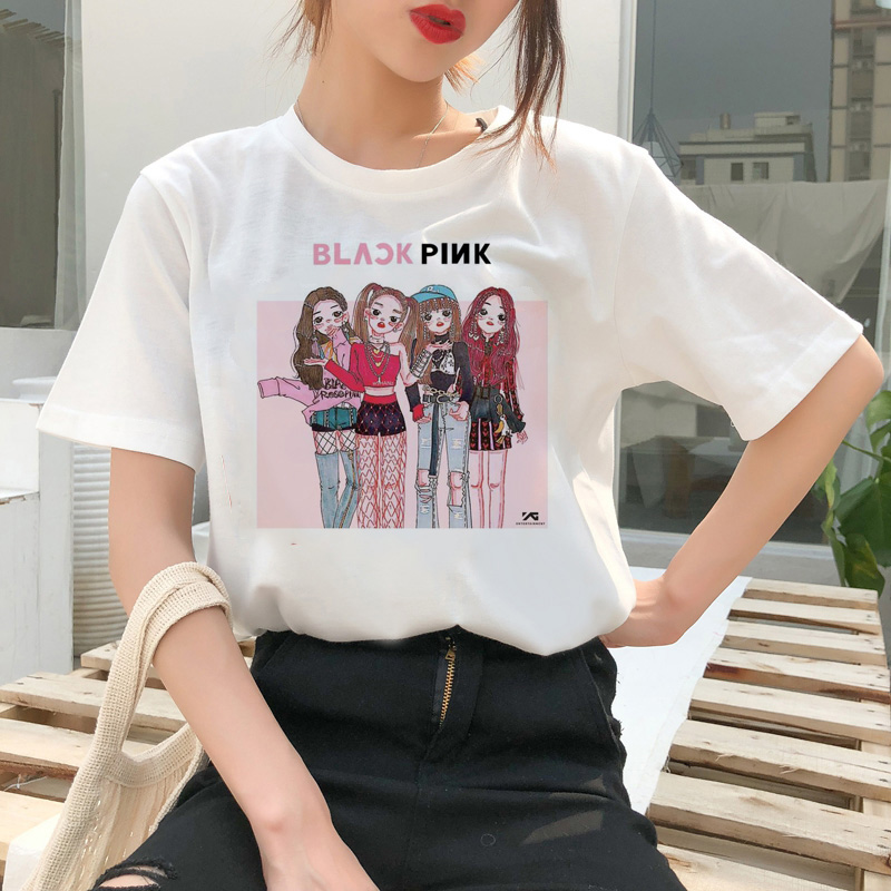 BLACKPINK Kawaii T-shirt Merch