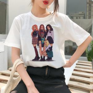 BLACKPINK Kawaii T-shirt Merch