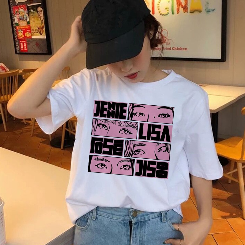 BLACKPINK Streetwear T-shirt Merch