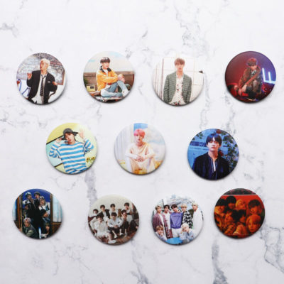 BTS Album Pins Merch