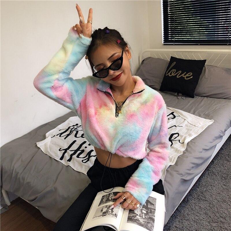 K-POP Plush Hoodie Merch