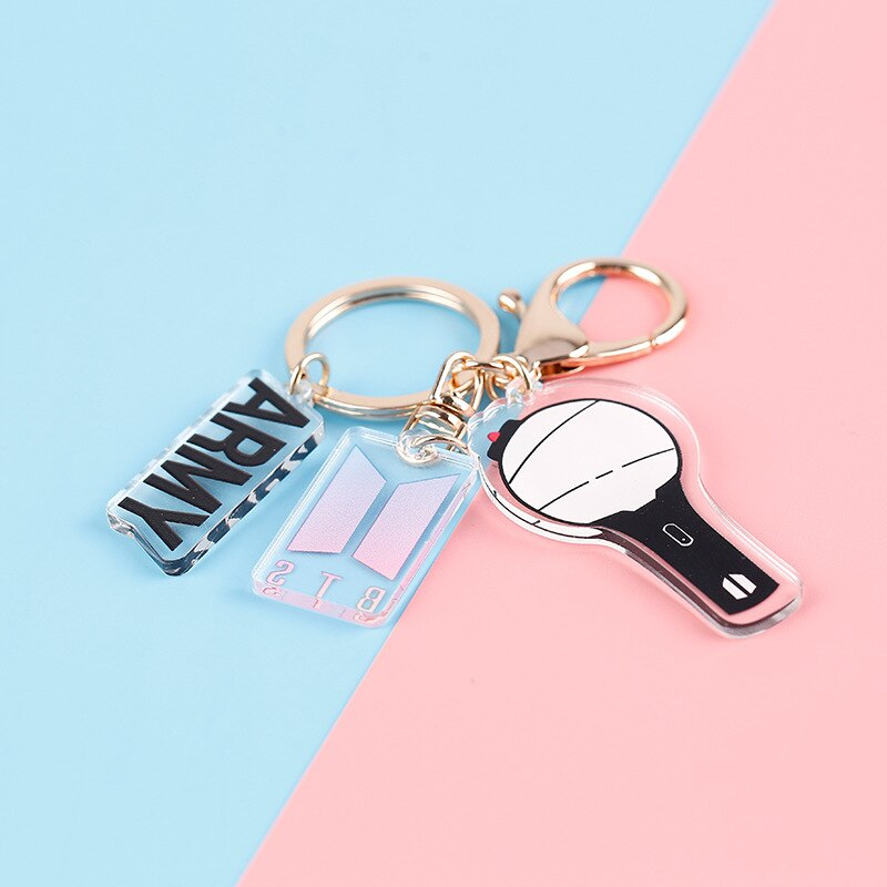 BTS And BLACKPINK Key Chain