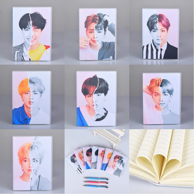 BTS Note Book Merch