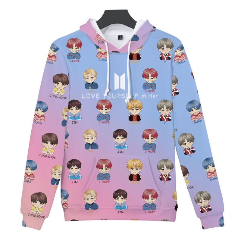 BTS 2019 Hoodie Merch