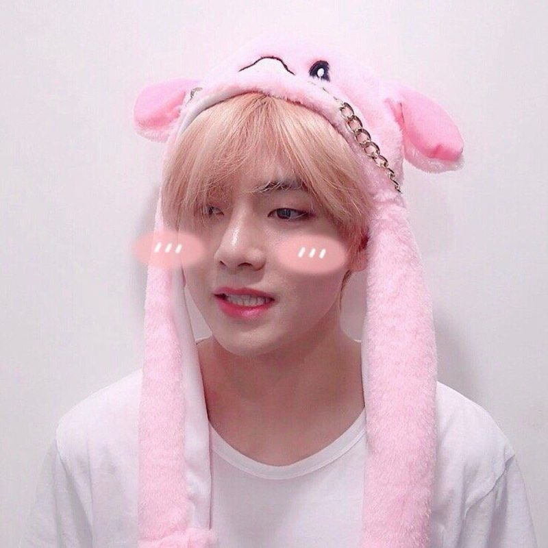 BTS Rabbit & Pig Hat