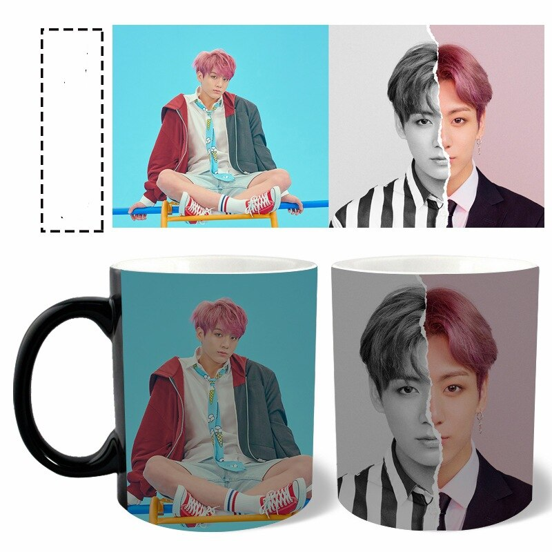BTS Mug Color Changing