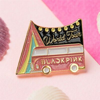 BLACKPINK Brooch Badge Merch