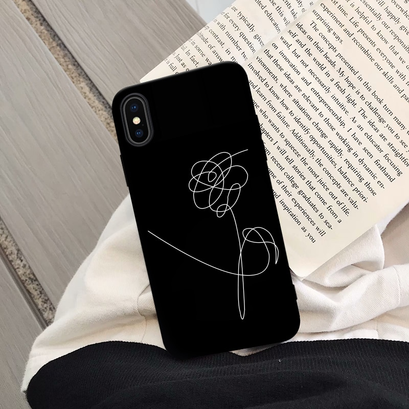 "BTS iPhone Case ""Love Yourself"""