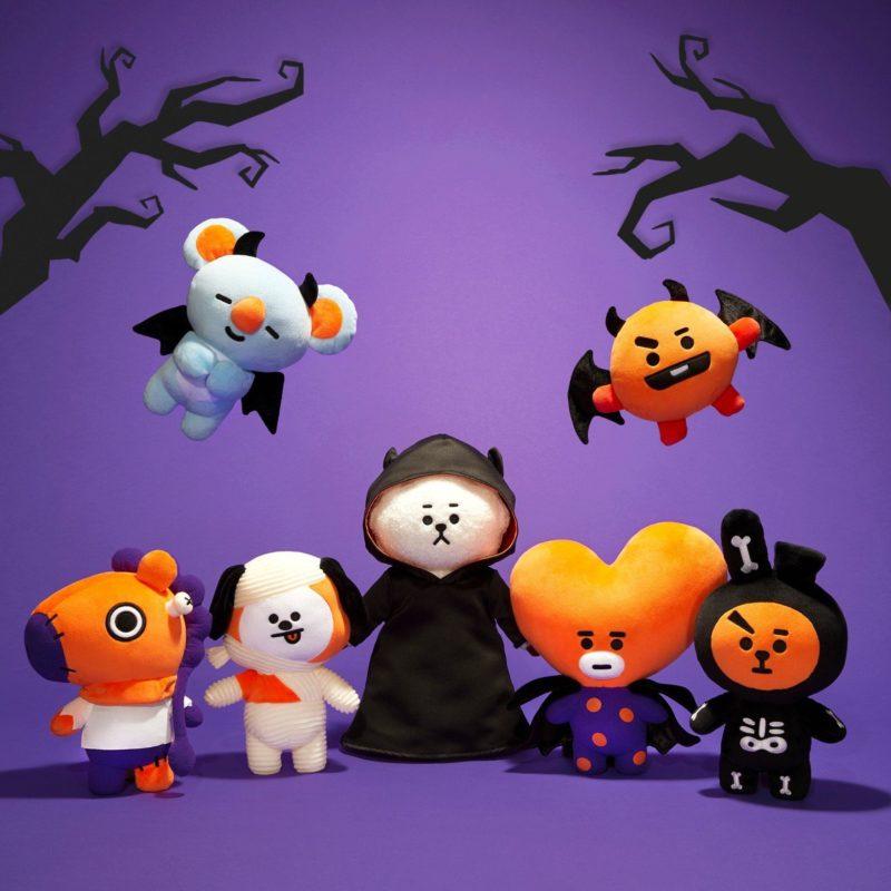 BT21 2019 Halloween Plush Merch