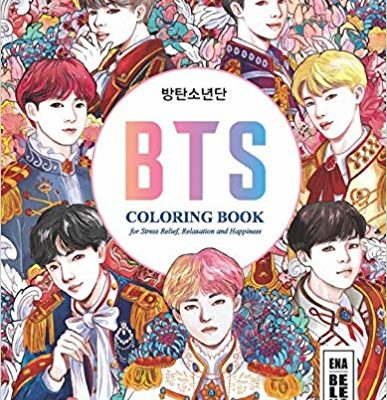 BTS Album Coloring Book