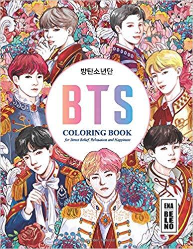 BTS Album Coloring Book