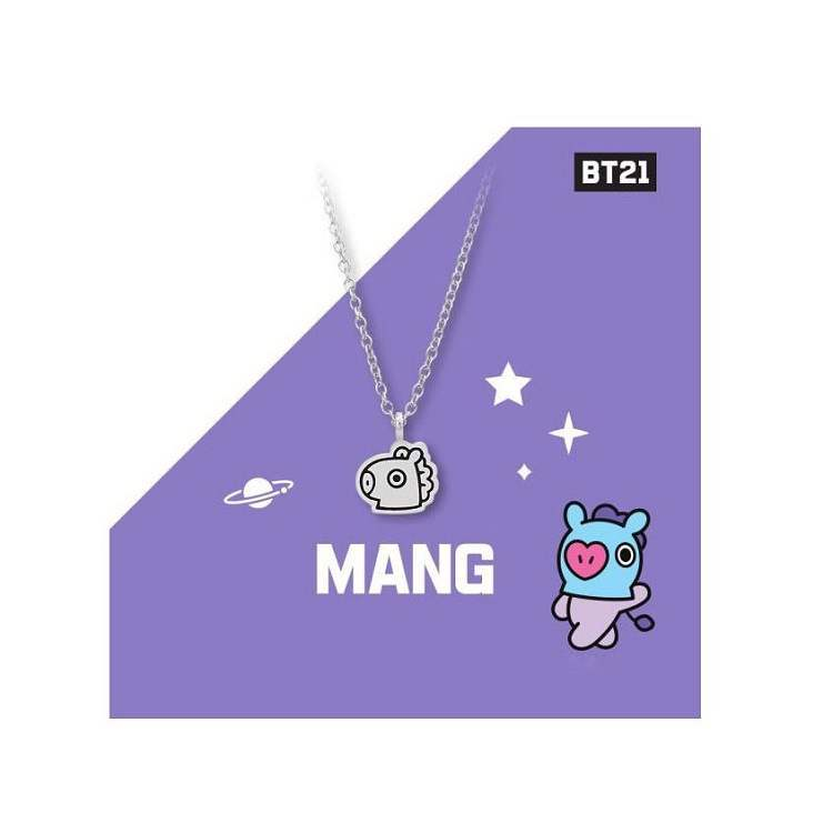 BT21 Back Signature Necklace