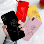 "BTS Merchandise iPhone Case ""Love Yourself"""