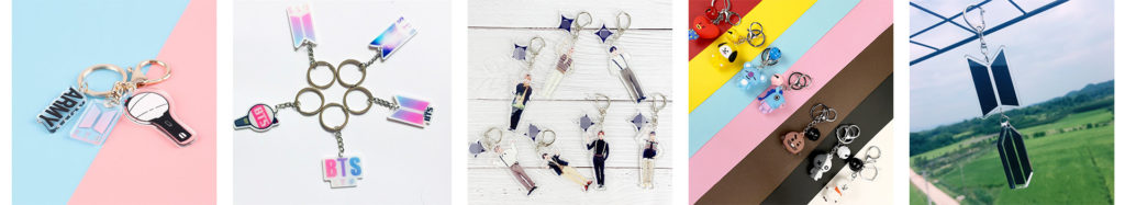 BTS Key Chain
