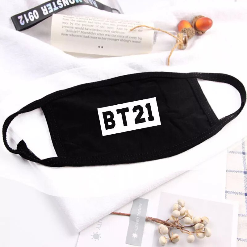 BT21 Logo Face Mask