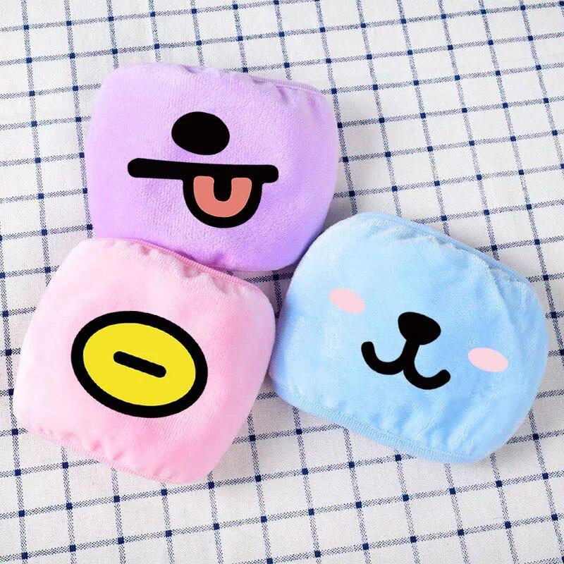 BT21 Cute Face Masks