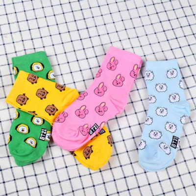 BT21 Socks Merch