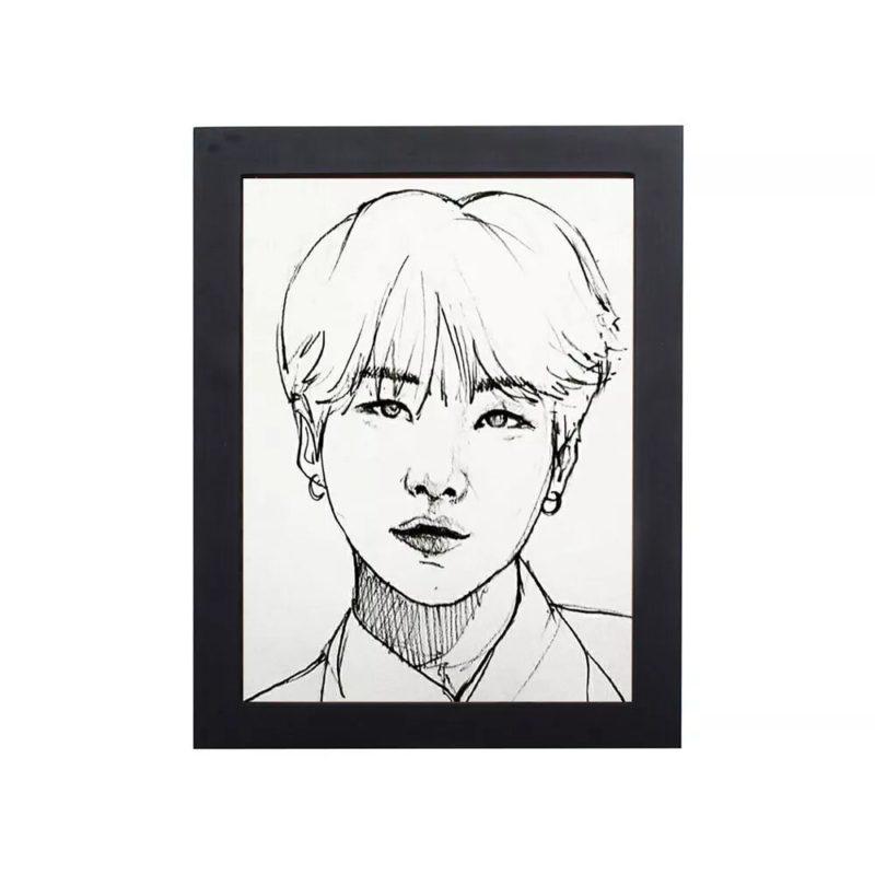 BTS Handmade Photo Frame