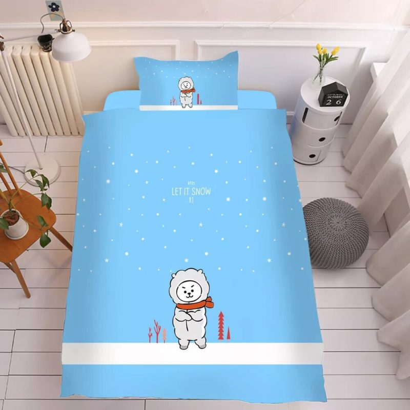 BT21 Bed Sheet