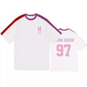 BTS Member Name Shirt